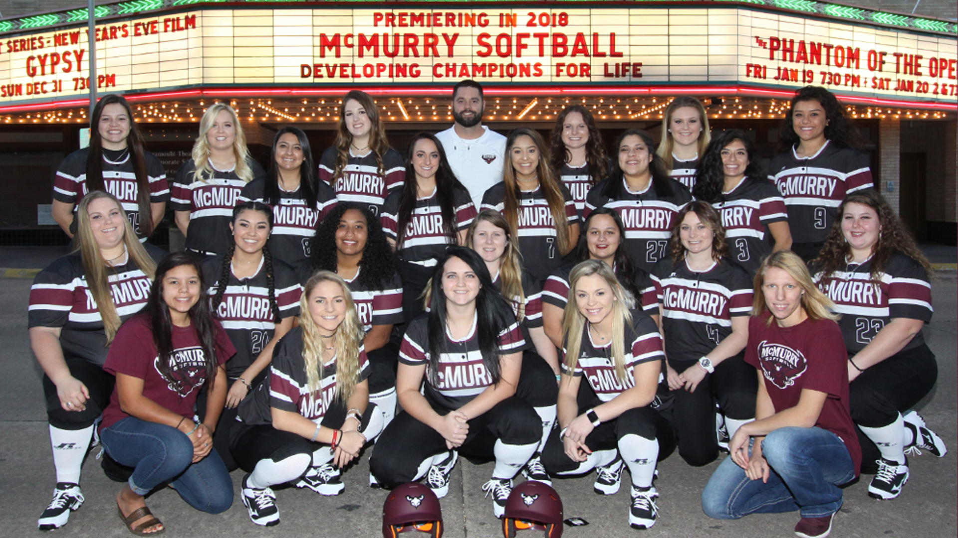 INTRODUCING: McMurry University's First-Ever Softball Team Roster ...